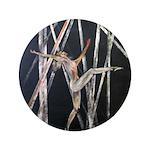 "gymnastic dance art 3.5"" Button (100 pack)"