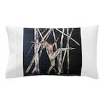gymnastic dance art Pillow Case