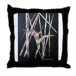 gymnastic dance art Throw Pillow