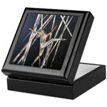 gymnastic dance art Keepsake Box