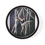 gymnastic dance art Wall Clock