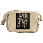 gymnastic dance art Messenger Bag