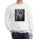gymnastic dance art Sweatshirt