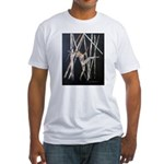 gymnastic dance art Fitted T-Shirt