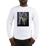 gymnastic dance art Long Sleeve T-Shirt