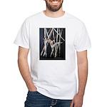 gymnastic dance art White T-Shirt