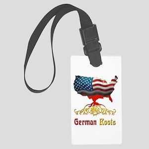 American German Roots Large Luggage Tag