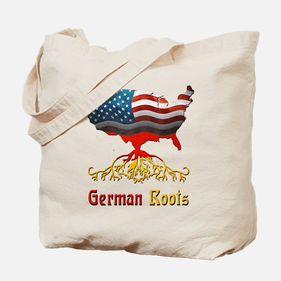 American German Roots Tote Bag