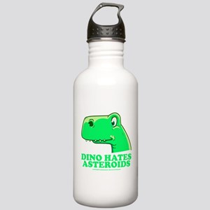Dino hates asteroids Stainless Water Bottle 1.0L