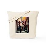 running athletics fine art Tote Bag