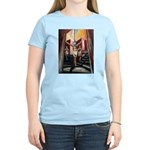 running athletics fine art Women's Light T-Shirt