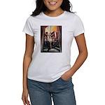 running athletics fine art Women's T-Shirt