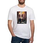 running athletics fine art Fitted T-Shirt