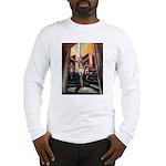 running athletics fine art Long Sleeve T-Shirt
