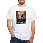 running athletics fine art White T-Shirt