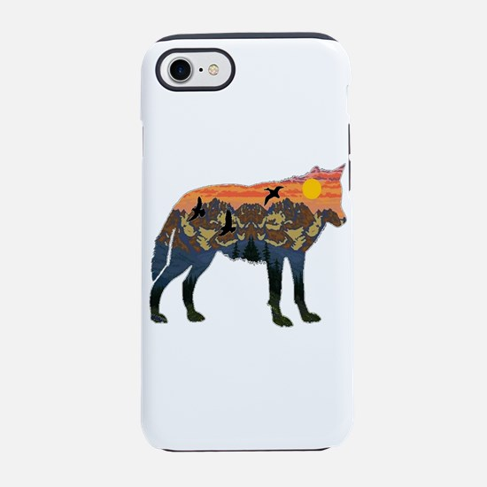MOUNTAIN SUN SETTER iPhone 7 Tough Case