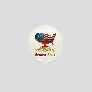 American German Roots Mini Button