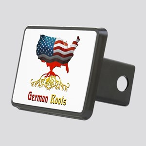 American German Roots Rectangular Hitch Cover