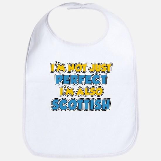 Not Just Perfect Scottish Bib