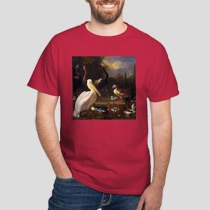 Hondecoeter The Floating Feather Dark T-Shirt