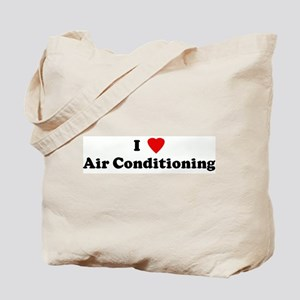 I Love Air Conditioning Tote Bag