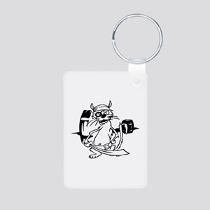 Pirate Aluminum Photo Keychain
