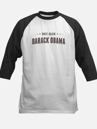Obama Once Again Kids Baseball Jersey