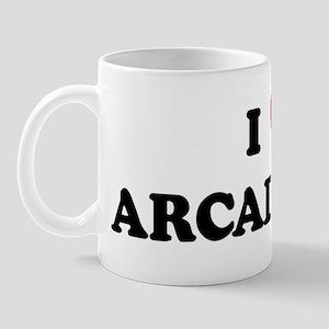 I Love ARCADIA Mug