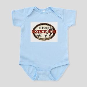 KOKE FM LOGO Infant Bodysuit