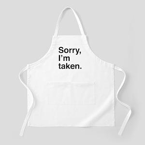 Sorry, I'm Taken. Apron