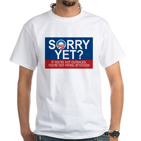 11x17_sorry-yet T-Shirt