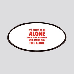 Alone Patches
