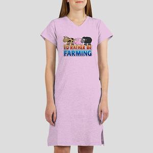 Farmville Inspired 3 animals Women's Nightshirt