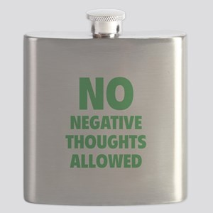 NO Negative Thoughts Allowed Flask