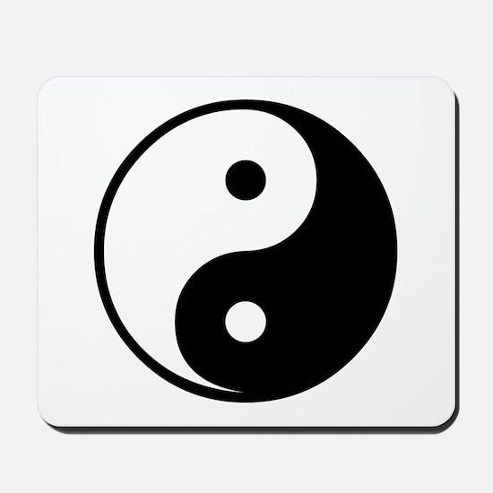 Yin and Yang Mousepad