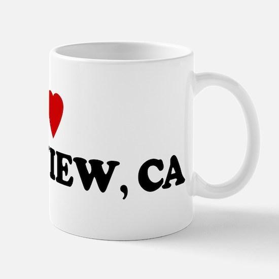 I Love GREENVIEW Mug