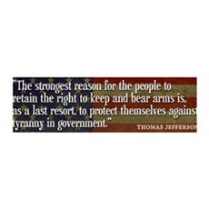JEFFERSON: 2nd Amendment 36x11 Wall Peel