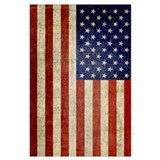 American flag Framed Prints