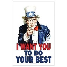 More Uncle Sam Sayings Poster