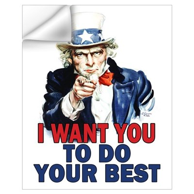More Uncle Sam Sayings Wall Decal