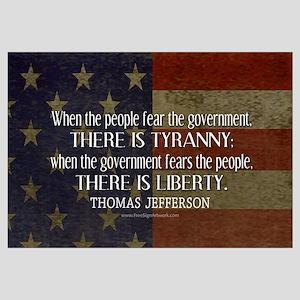 Liberty vs. Tyranny - New