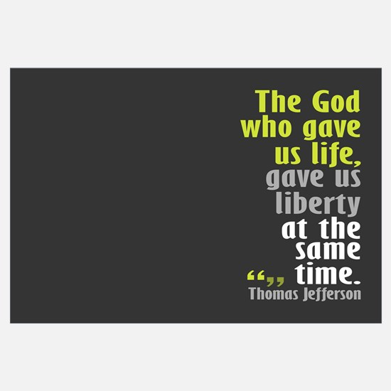 Jefferson: The God who gave u