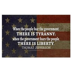 Liberty vs. Tyranny - New Framed Print