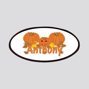 Halloween Pumpkin Anthony Patches