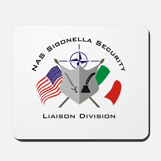 Security Liaison Division Mousepad