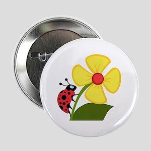 "Ladybug 2.25"" Button"