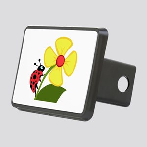 Ladybug Rectangular Hitch Cover