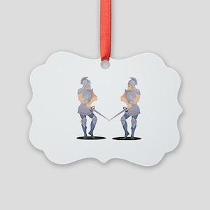 Knight Picture Ornament
