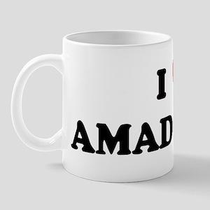 I Love AMADOR Mug