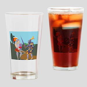 Knight Drinking Glass
